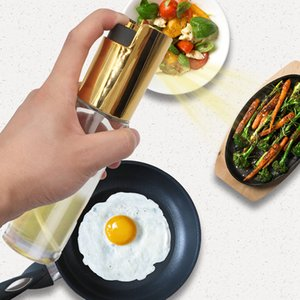 Cucina Olio spruzzatore Pot in acciaio inox di oliva di Mister olio spray pompa raffinata bottiglia cottura arrosto Cuocere Oil Tools bottiglia per Pasta 17.5 * 4cm R3206
