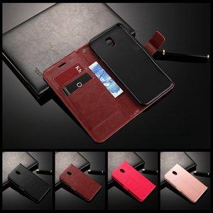 Luxury Retro Flip Case For Samsung Galaxy J7 2017 SM-J730 J730F J730G J730H DS Leather Soft Phone Cases For Samsung J7 Pro