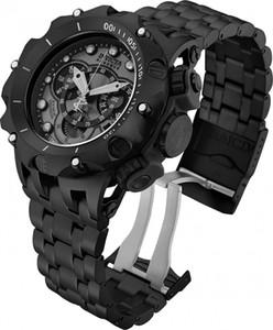 Atacado Invicta Reserve Venom Homens Modelo 27795 - homens suíça de relógio de quartzo 51 milímetros de aço inoxidável plástico preto para Dropshipping