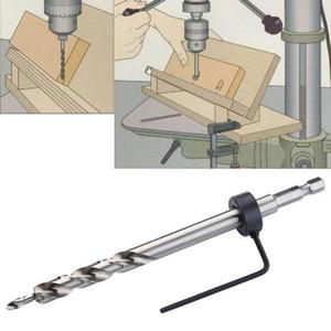 Posicionador de guía de broca escalonada con orificio de orificio oblicuo de orificio hexagonal de 9 mm de acero de vástago hexagonal