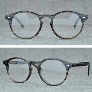 Nueva Marca Oliver Gafas hombres y mujeres Moda Unisex Gafas óptico de las lentes de alta calidad de vidrios ópticos de montura de gafas