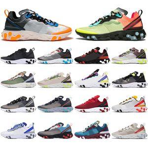 Nike 2019 Chaussure melhor formadores mens Reagir Elemento 87 55 Undercover X próximo designer cinza royal red esportes calçados das mulheres dos homens Sapatilhas sapatos
