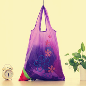 nouvelle forme spéciale fraise shopping sacs après fold qualité Eco achats sac de rangement Cargo-de palier autour de 20 kg