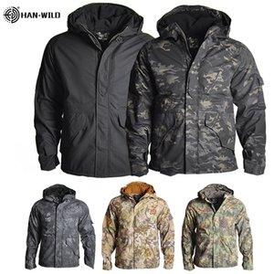 Jacket G8 Esporte Outdoor Gear Caminhadas Jackets camuflagem roupas de caça Homens tático uniforme à prova de vento Aqueça Windbreaker