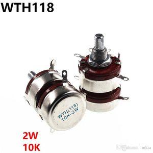 WTH118 2W 10K dupla potenciômetro 2 potenciômetro