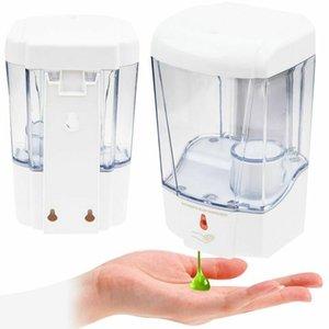 Sensore Auto automatico sapone liquido 700ML Touchless montaggio a parete di sapone disinfettante di Handfree Dispenser ZZA2413