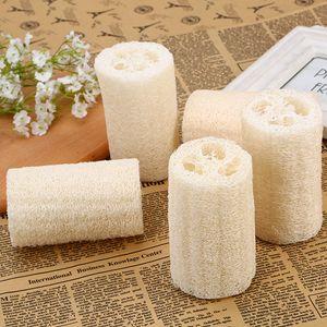 Natural loofá luffa esponja com loofá para corpo remover a pele morta e ferramenta de cozinha escovas de banho massagem towelt2i5795
