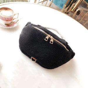 Agneaux laine impression classique fleur design de luxe sac à dos unisexe poches poitrine paquet amovible design bandoulière Sac à bandoulière