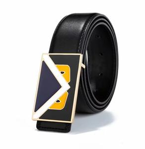 ceinture design hommes ceintures nouvelles ceintures en cuir de vache casual ceinture de luxe de la mode pour hommes, femmes ceintures de taille hommes Livraison gratuite