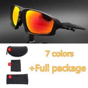 Qualitäts-TR90 Radfahren Mode Sonnenbrillen im Freien windundurchlässige Gläser Angeln Fahrradsport Brillen OK9402 Full Package