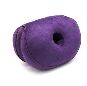 C1 Hip Lift Seat Cushion Dual Comfort Cushion Plush Folding Pillow Stored Lift Hips Up Seat Pillow