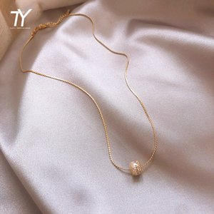 2020 new classic small waist shape pendant fashion sexy collarbone chain South Korean women's jewelry temperament short necklace