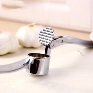 Eco-Friendly and Kitchen tools eficientes Gadget aço inoxidável Garlic Press gengibre Presses Britadeira para Home Chef
