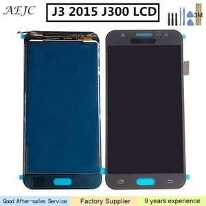 Pode ajustar o brilho Para Samsung J300 J3 J300F J300H LCD Screen Display Toque digitador Assembléia para Galaxy J3 2015 tela 5.0""