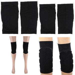 Safety Elastic Knee Pads Soft Knee Support For Football Skating XS+M