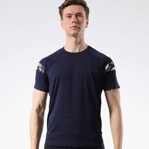 Spring Autumn Men Running T Shirt Quick Dry breathable Fitness T Shirt Training Clothes Running Slim Fit Tops Tees Soccer Jersey