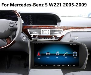 Android 9.0 RAM 4G ROM 64G car dvd player for Mercedes-Benz S W221 2005-2009 car mutimediea 3 way USB suppport DAB optional car stereo radio