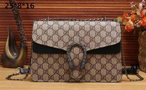 All'ingrosso della fabbrica 2019 nuova borsa guscio in pelle modello di croce sintetica tracolla a catena Messenger Bag Fashionista BAG 013