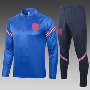 2020 2021 Homens novo Sportswear treinando treino survêtement de chandal pé correr KANE DELE azul
