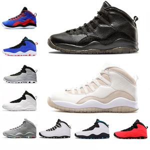2019 NEW ARRIVAL 10 10s good Tinker Chaussures de basketball Cement Westbrook je suis de retour Blanc Noir Gris Acier TOP Hommes sport nouveau Baskets 41-47