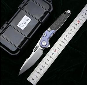 NOC MT07 tácticas plegables bola de cuchillo que lleva M390 acampar mango de titanio cuchilla de supervivencia de la caza de la pesca al aire libre de los cuchillos herramienta EDC