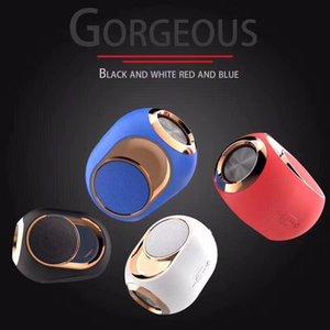 ستيريو خاصه جديده نموذج O6 الذهبي البيض سماعات بلوتوث اللاسلكية مضخم الصوت المحمولة الهاتف المحمول البسيطة بطاقة هدية صغيرة