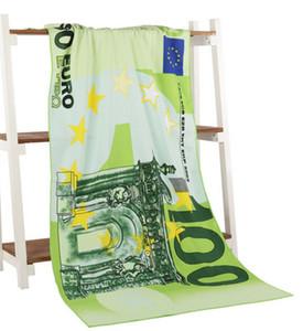 yetişkin peçete ronde Amerikan İngiliz bayrağı plaj havlusu yeni moda varış 70 * 140 cm baskılı mikrofiber Euro banyo plaj havlusu