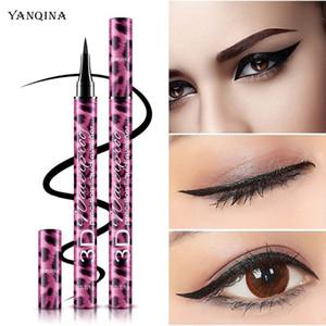 Eye Makeup 36H Mascara Eyeliner Pencil Kit YANQINA 2 in 1 Precision Liquid Eyeliner 4D Thick Curl Mascara Waterproof Long lasting Eye liner