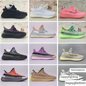 Hot vente Yecheil Yeeree boost 350 V2 Kanye West SPLY Zebra Hyperspace Frozen jaune Sesame beurre angeles chaussures de sport statique Refective