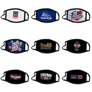 Moda lujo de la cara de la máscara de impresión de letras máscara transpirable Máscaras de las mujeres diseñador unisex reutilizable lavable ciclo al aire libre de la mascarilla del Trump # 595
