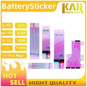 Высококачественный аккумуляторный аккумуляторная клейкая лента клей для iPhone 5 5S 6 6S 6P 6SP 7 7P 8 8P X XS XR XSM 11 клей наклейка ленты DHL Бесплатная доставка