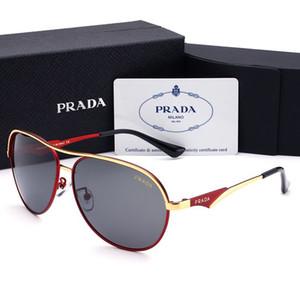 Gafas de sol de diseño Gafas de sol de lujo Gafa de diseñador para hombre Gafas Adumbral UV400 con caja Marca de alta calidad P 4 colores 2019 Nuevo
