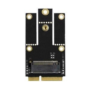 Réseau Cartes réseau M.2 NGFF Mini adaptateur PCI-E Convertisseur pour M.2 Wifi Wlan Bluetooth Carte Intel AX200 9260 8265 8260 pour ordinateur portable
