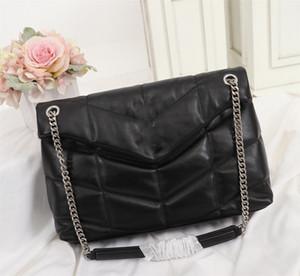 2020 yeni lüks tasarımcı çanta LOULOU PUFFER çanta zincir omuz çantası kapitone Kuzu derisi Çanta Yüksek Kalite Kadınlar Çanta