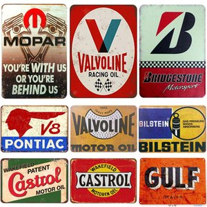 Metal sinal do poster 20x30cm motos clássicos sinais de viaturas metal do vintage chapa de estanho parede clássico ferro fotos decoração de garagem loja de café bar