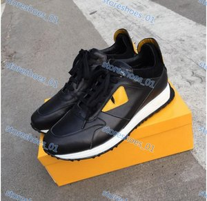Xshfbcl 19ss high quality F luxe FUN FUR progettista sneakers leather men and women racers hot sports casual shoes