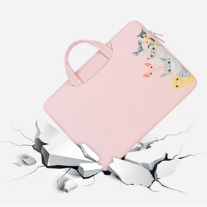 PU Leather Laptop Bag Soft For Macbook Air Pro Retina 11 13 14 15 15.6 inch Laptop Sleeve Case PC Tablet Case Cover for HP Dell