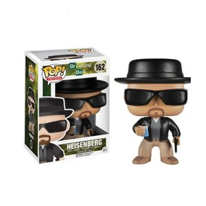 Funko pop Breaking Bad Heisenberg # 162 action figure di scatola originale grande qualità e lo stesso trasporto di giorno
