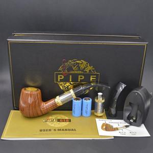 100% bois cigarette électronique EPIPE 618 Kit tuyau Ewinvape E 618 pipe avec 0.5ohm sous bobine énorme vape mieux vape mod bois 618 tube