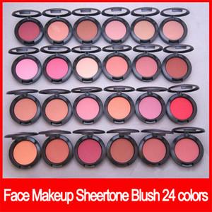 Не Famous Face Makeup sheertone румяна 24 цветов краснеют палитра 6g не зеркало не чистят порошок Shimmer Blush бесплатная доставка