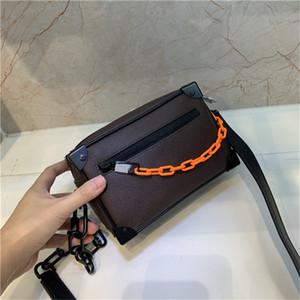 Tronco Feminino Mini macia 1: 1 de couro genuíno de embreagem Bolsas Hign End Versão Bolsa para Mulheres feminino M44480 Trunk Bag Mão