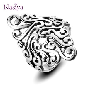 Genuine 925 Sterling Silver Jewelry Ring For Women Men Classic Vintage Rings Exquisite Gift Anniversary Party Gift Wholesale