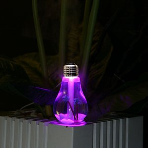 400ML USB Ультразвуковой увлажнитель воздуха Красочные Night Light Эфирное масло Аромат Диффузор Лампа Форма с внутренним ландшафтной RRA2825-2