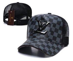Les nouvelles ms concepteur général des hommes et des femmes casquette de baseball homme chapeau brodé en os chapeau pur rebond coton extérieur ajuster Casquette