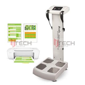 Analizador de escaneo corporal para la máquina de prueba de grasas Salud en cuerpo Composición corporal Analizar dispositivo BIO Impedancia Elementos Análisis Equipos
