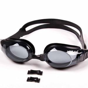 نظارات السباحة رجل إمرأة نظارات المحمولة الكبار للجنسين نظارات السباحة الإطار بركة الرياضة نظارات نظارات نظارات للماء مع مربع