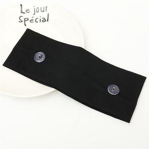 La mascarilla del Earloop hairband cara Máscara del oído hebilla elástico venda del oído de la cuerda de seguridad Titular de Deportes diadema con pañuelos Botón ZJJ364