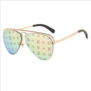 Hipster Sunglasses filigrana con la scatola di polarizzazione maschile e femminile Occhiali esterna antiriflesso UV400 guida equitazione Sport Occhiali da sole