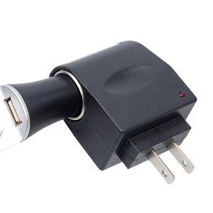 Enchufe 220V AC Kebidumei UE universal de cigarrillos 12V DC coche de la energía del zócalo del adaptador Converter Inicio automático encendedor