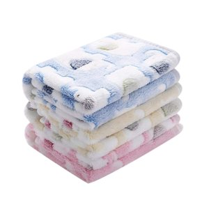 New 1 Pack 3 Blankets Super Soft Fluffy Premium Coral Fleece Pet Blanket Flannel Throw For Dog Puppy Cat